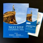 Next Step Counseling Tri-Fold Brochures & Presentation Folder